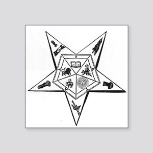 Order of the Eastern Star Square Sticker