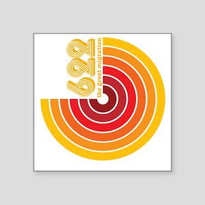 HIJRA 622 Y Square Sticker