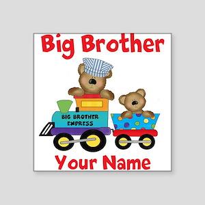 Big Brother Train Square Sticker