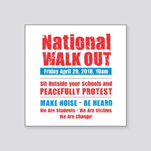 National Walk Out Sticker