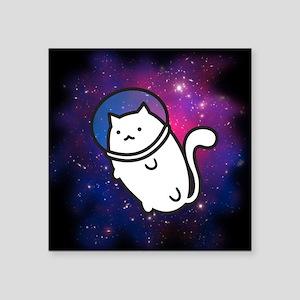 Fat Cat in Space Sticker