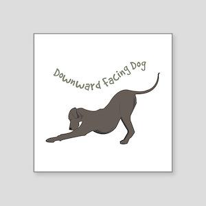 Downward Dog Sticker