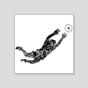 Vintage Soccer Goalie Sticker