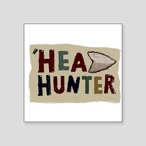 """HEAD HUNTER Square Sticker 3"""" x 3"""""""