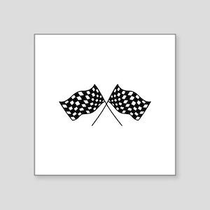 Checkered Flags Sticker