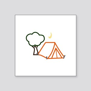 CAMPING APPLIQUE Sticker