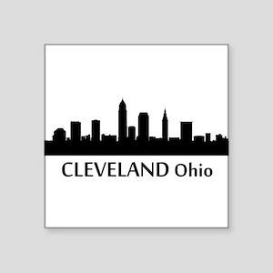 Cleveland Cityscape Skyline Sticker