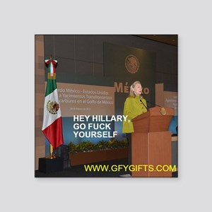 GFY Hillary Clinton Sticker