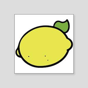 Lemon Drawing Sticker
