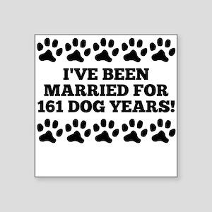 23rd Anniversary Dog Years Sticker