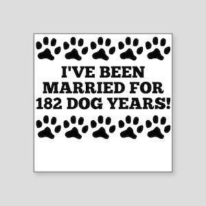 26th Anniversary Dog Years Sticker
