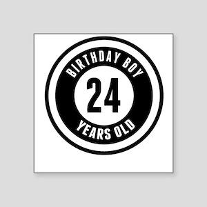 Birthday Boy 24 Years Old Sticker