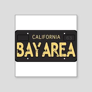 Bay Area calfornia old license Sticker