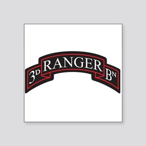3D Ranger BN Scroll Rectangle Sticker