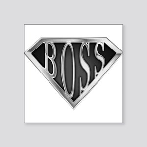 "spr_boss2_chrm Square Sticker 3"" x 3"""