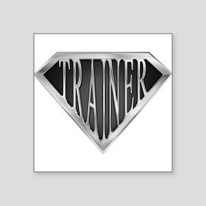 SuperTrainer(metal) Rectangle Sticker