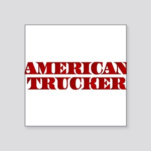American Trucker Sticker