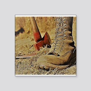 Wildland Firefighter Boot Sticker