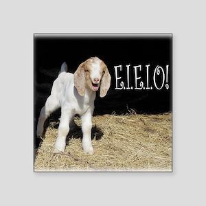 """Baby Goat e.i.e.i.o! Square Sticker 3"""" x 3"""""""