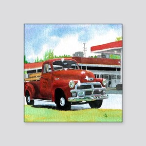 "1954 Chevrolet Truck Square Sticker 3"" x 3"""
