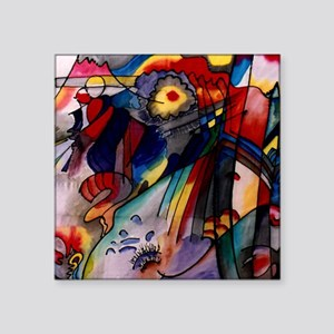 "Kandinsky - 293 Square Sticker 3"" x 3"""