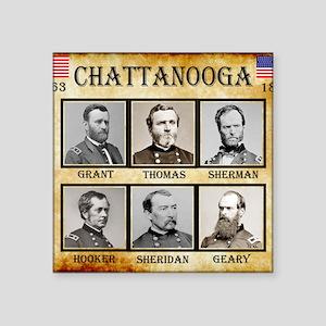 """Chattanooga - Union Square Sticker 3"""" x 3"""""""