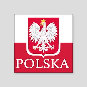 Polska Polish Flag Sticker