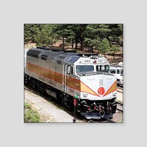 Railway Locomotive, Grand Canyon, Arizona, USA Squ