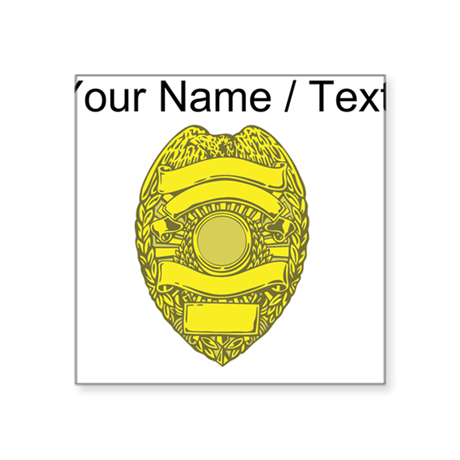 police badge sticker by policemangifts