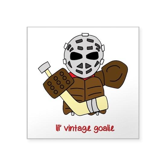 Lil Vintage Hockey Goalie