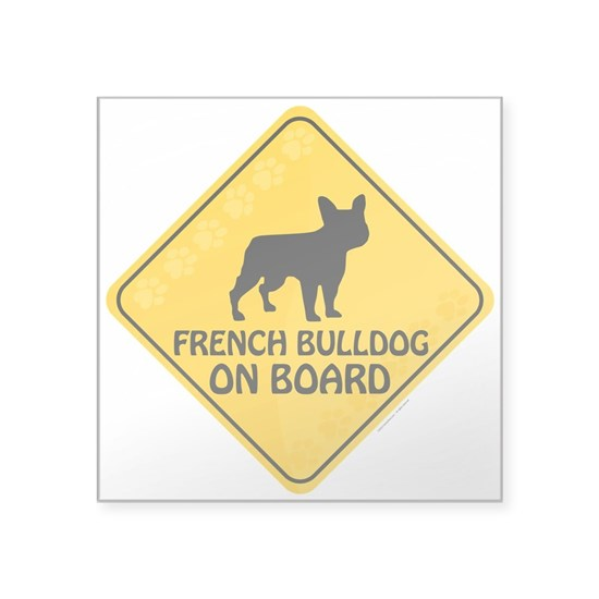 French Bulldog On Board