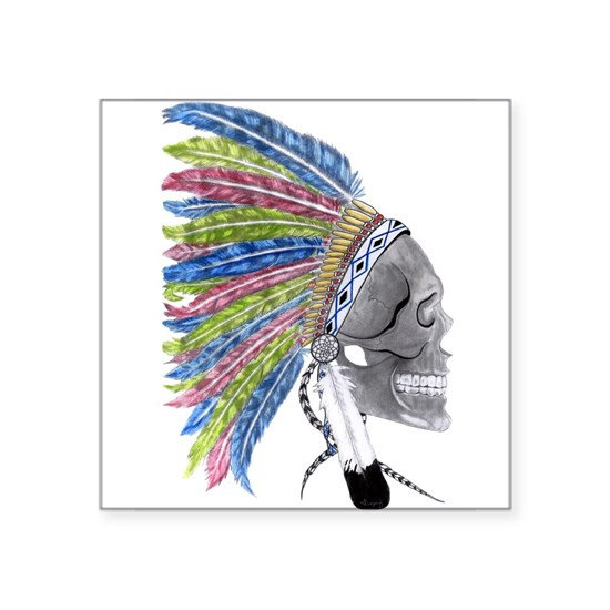 Colorful Native American Headdress