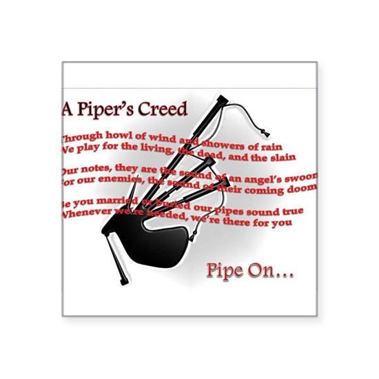 Piper's Creed (White)