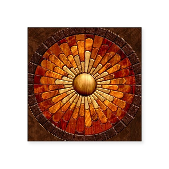 Harvest Moons Marquetry Sunburst