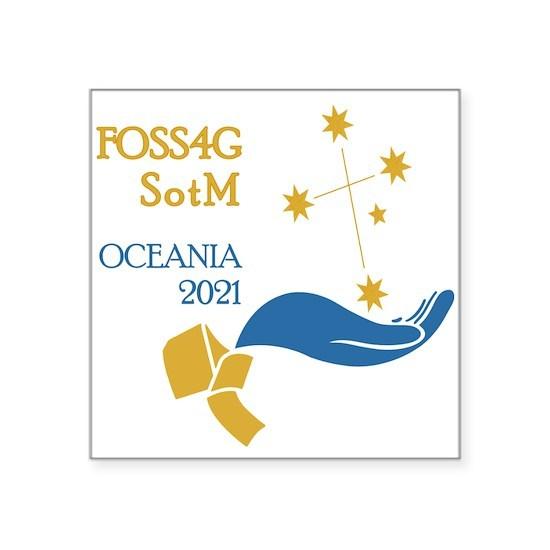 FOSS4G SotM Oceania 2021 Square