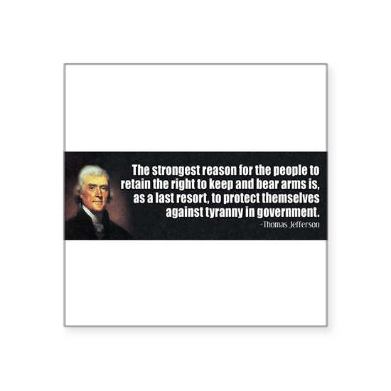 TJ Quote Gun Rights
