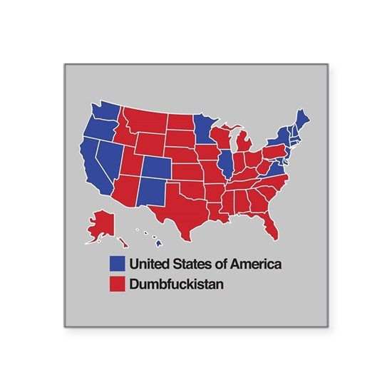 Map of Dumbfuckistan