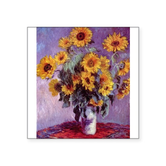 Claude Monet Bouquet of Sunflowers