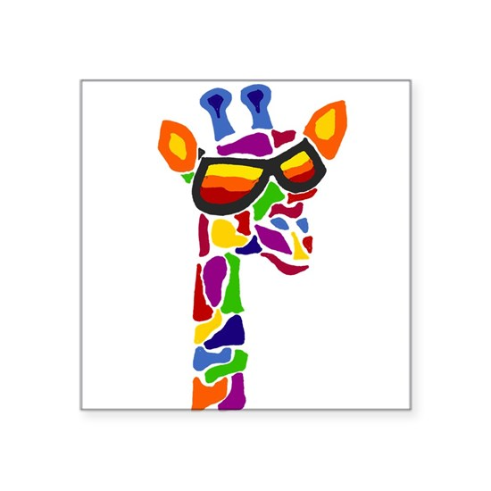 Giraffe in Sunglasses