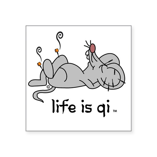 Life is Qi Mouse Acupuncture Moxa