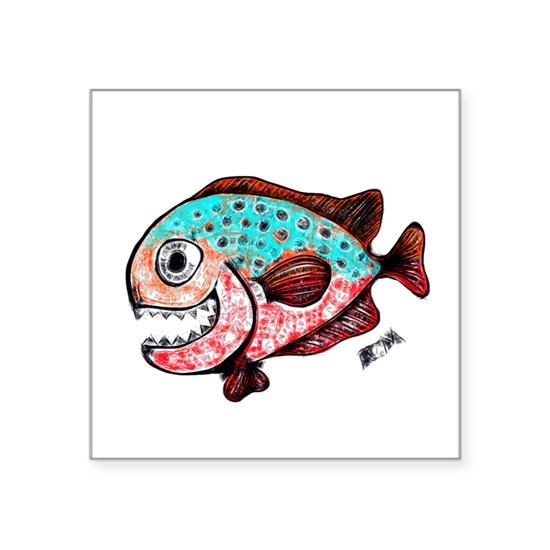 Chompers The Toothy Fish. Tuna Fish RCM