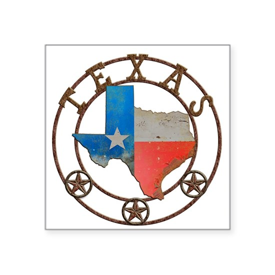 Texas Wrought Iron Barn Art