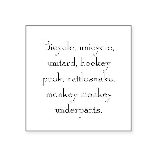 Monkey Monkey Underpants