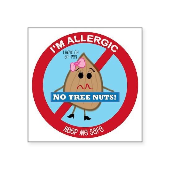 Tree Nut Allergy - Girl