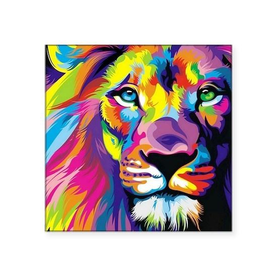 Leo the trippy lion