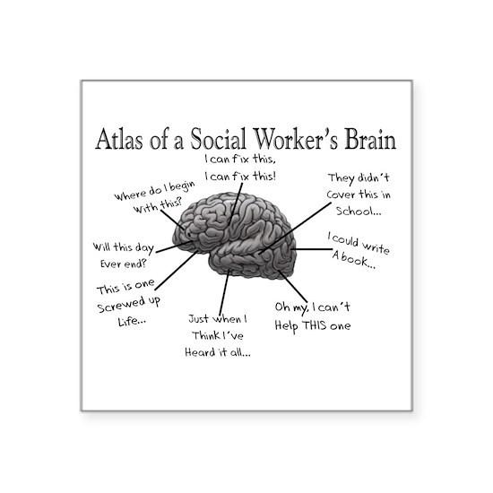 Atlas of a Social workers brain