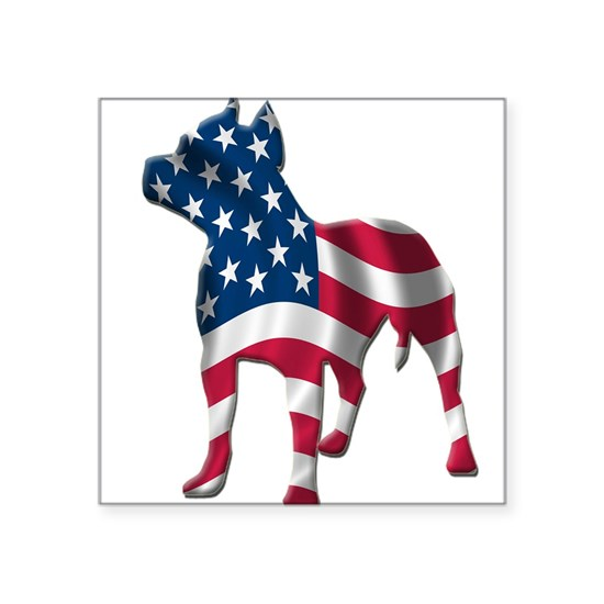 pit bull usa silhouette