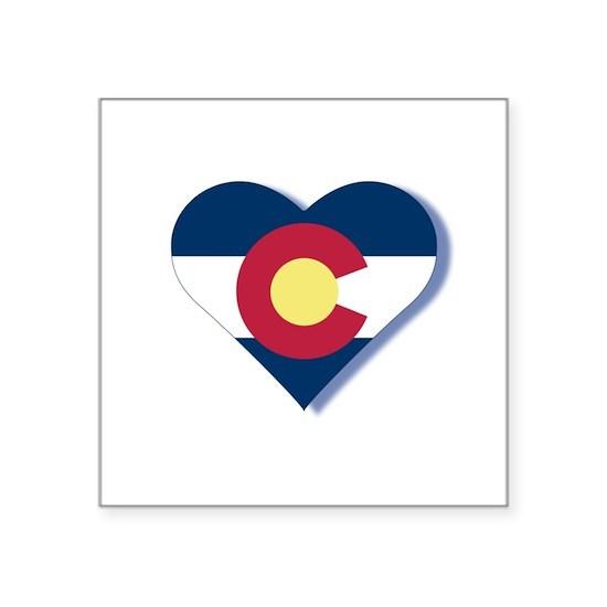 Colorado Flag Heart