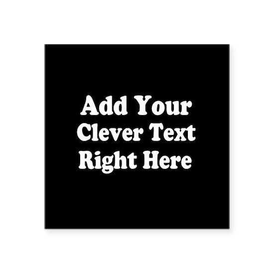 Add Text Background Black White