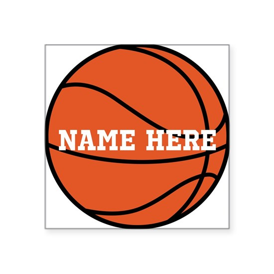 Customize a Basketball